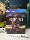 Resident Evil 3 Remake Lenticular 3D Protective Sleeve No Game Ps4 Version
