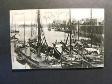 Düsseldorf, Rheinhafen, gelaufen 1905 (1080)