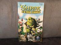 Notice Mode D'emploi Shrek Extra Large pour Nintendo Gamecube (pas de jeu)