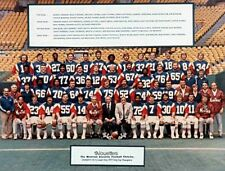 1977 Montreal Alouettes Grey Cup Champions Team Pic Color 8 X 10 Photo Free Ship