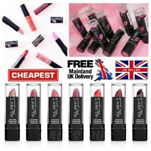 Make Up Gallery Lipstick 'All About The Pout' NEW Red Pink Plum Nude Orange
