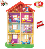 Peppa Pig Lights N Sounds Family Home Play Set 22 Doll House Battery Operated