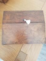 Antique Victorian Rosewood Writing Slope Box