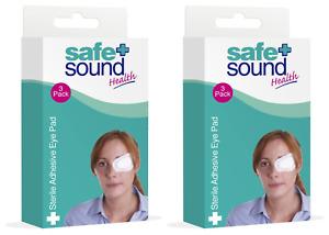 2 packs X Safe & Sound Sterile adhesive Eye Pad (3)
