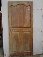Porte communication chantourné Louis XV bois ancienne largeur 82 ht 188,5 cm
