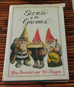 Secrets of the Gnomes by Wil Huygen and Rien Poortvliet (1982, Hardcover)