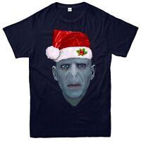 Harry Potter Christmas T-Shirt, Lord Voldemort Xmas Festive Adult & Kids Tee Top