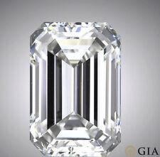 GIA certified 1.5 carat Emerald Cut Diamond I color SI1 clarity Ideal loose