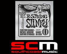 Ernie Ball Electric Guitar 8 String Set 10/74 Gauge Strings 2625