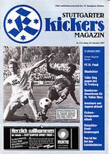 II. BL 87/88 Stuttgarter Kickers - FC St. Pauli, 18.10.1987