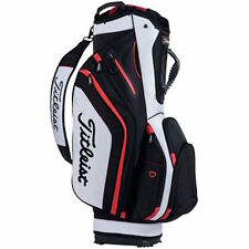 2016 Titleist Lightweight Red/Black/White Cart Bag w/ 14 Club Compartment ($220)