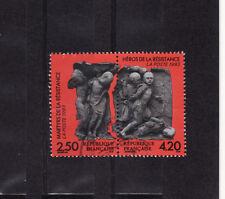 paire martyrs de la résistance   1993  num: 2813/14  oblitéré /3