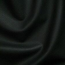 Kunstleder Lederimitat Stuhl Polsterstoff Meterware Bezugsstoff geprüft schwarz