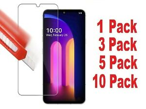 Glass Tempered Screen Protector Compatible with LG V60 ThinQ Anti Scratch