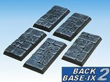 50mmx25mm Resin Bases 5 Square Dungeon Stone Warhammer