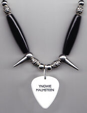 Yngwie Malmsteen Signature White Guitar Pick Necklace - 2015 Tour
