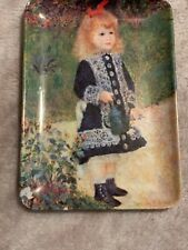 """Indianapolis Products Centre Young Girl Tray 4X6"""" Melamine Trinket Tray Italy"""