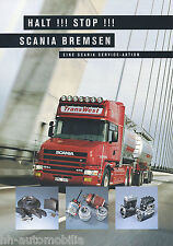 ACCESSORI prospetto SCANIA parti dei freni 1999 brochure Accessories Accessori Camion