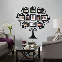 12X 3D Family Tree Photo Picture Frame Collage Wall Stickers Art Home Decor