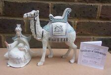 More details for hawthorne village silver blessings nativity - king melchoir & faithful camel