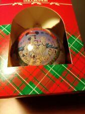 Disney 1995 101 Dalmations Christmas glass ball Cruella deVil