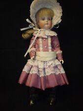 """15"""" Artist Made Closed Mouth Porcelain German Kestner Doll"""