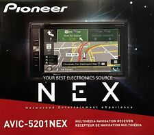 "NEW Pioneer AVIC-5201NEX 2-DIN In-Dash Navigation Car Stereo w/ 6.2"" Touchscreen"