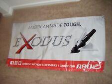 1 New Style Qad Exodus Broadhead Banner