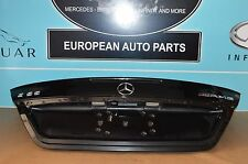 03-06 W211 MERCEDES E320 E500 E55 AMG BLACK TRUNK LID COVER LIFT GATE OEM