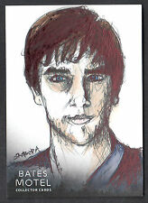 BATES MOTEL SEASON 1 Breygent 2015 SKETCH CARD by JOHN SLOBODA v4