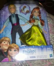 Disney Frozen Anna and Kristoff Fashion Dolls full doll size bed available too