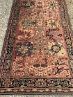 """Vintage 1930 M.j. Whitthall Anglo Pers Rug Runner 99"""" X 27"""" Pattern 356"""