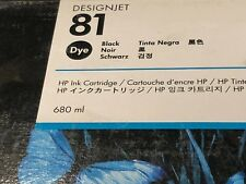 Genuine HP 81 black C4930A Original DesignJet ink cartridge