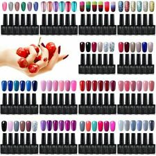 GEL LAB 6 Colors Set Gel Nail Polish Need Base Top Coat Varnish Lacquer UK STOCK