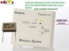 DRAYTON DIGISTAT SCR RF2 WIRELESS RECEIVER Repair Service capacitor 0.68uF