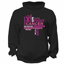 Fight Breast Cancer Awareness PINK Ribbon Survivor supporter Hoodie S-6X