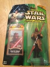 "Star Wars: Darth Maul {Sith Apprentice} Power Of The Jedi 3.75"" Action Figure"