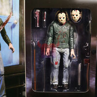 """NECA 7"""" Action Figure 1:12 Friday the 13th Part III 3D Jason Voorhees Ultimate"""