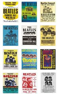 The Beatles USA Concert Posters Trading Card Set Vol 2 FREE UK POSTAGE