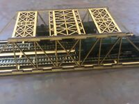 00 Gauge Twin  Girder Railway Bridge