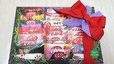 NESTLE JAPANESE KITKAT MINI 30PCS ASSORT GIFT SET  TOKYO BANANA AMAZAKE  F/S