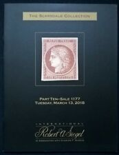 Auction catalogue Classic FRANCE Scarsdale Collection