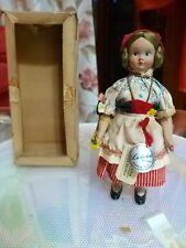 Rarissima Bambola D'epoca Lenci Regionale Liguria Anni 50 Da collezione NUOVO