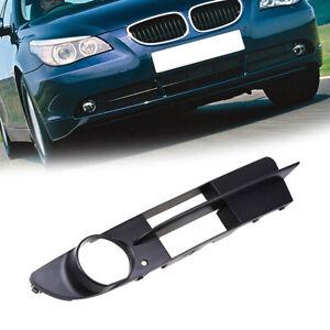 Left Driver Side Front Fog Light Bumper Grille for BMW E60 E61 525i 530i 2004-07