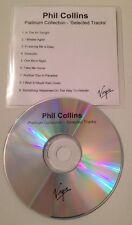 Phil Collins - Platinum Collection 9 Track UK Promo Cd Album Sampler Genesis