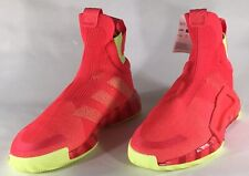 NEW adidas N3xt L3v3l Men's Shock Red Scarlet Yellow Basketball Sneakers G27761