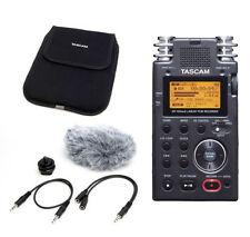Enregistrement TASCAM pour équipement audio professionnel