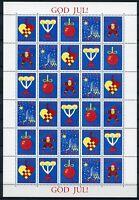 Aland Kleinbogen Weihnachtsmarken 1993 postfrisch MNH (Wei860