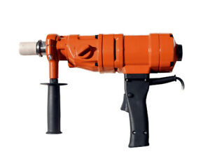 Diamond Core Drill Kit Concrete Hand-Held Wet Drilling 1500W with Carry Case