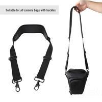Elastic Camera Shoulder Strap Belt For SLR DSLR Nikon Canon Panasonic Camera Bag